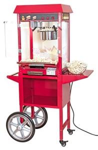 Profi-Popcornmaker mit Wagen