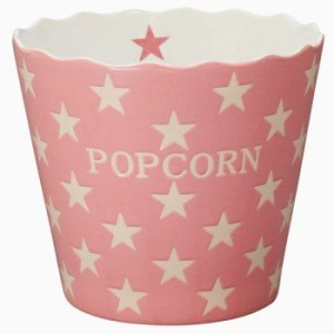 Popcornzubehör: Popcornschale aus Keramik